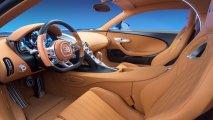 Bugatti Chiron inerior view
