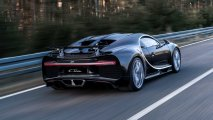 Bugatti Chiron rear left view