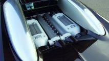 Bugatti Veyron 16.4 rear engine view
