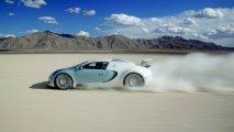 Bugatti Veyron 16.4 side view speeding