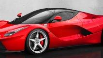 Ferrari LaFerrari front left side view