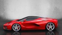 Ferrari LaFerrari left side view