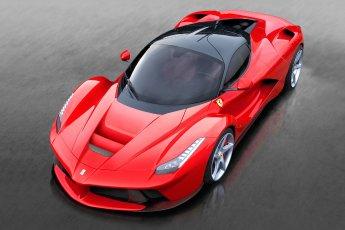 Ferrari LaFerrari front side view