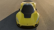 Hennessey Venom F5 front top view