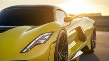 Hennessey Venom F5 front left side view