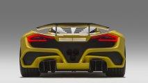 rear view Hennessey Venom F5