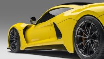 detailled rear side view Hennessey Venom F5