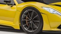 front left detailed view Hennessey Venom F5