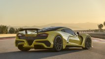 Hennessey Venom F5 rear side view
