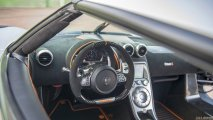 Koenigsegg One:1 steering wheel