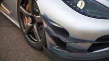 Koenigsegg One:1 front splitter