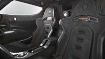 Koenigsegg One:1 interior view