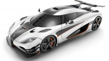 Koenigsegg One:1 front side view clean