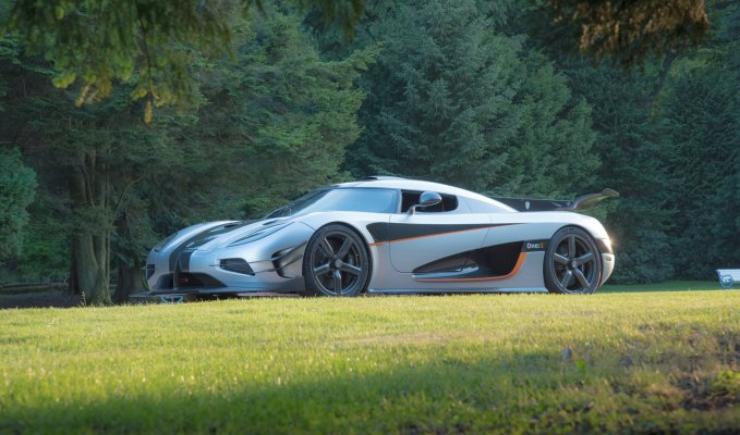 Koenigsegg One:1 side view