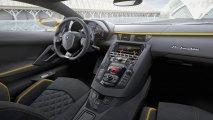 Lamborghini Aventador S interior view