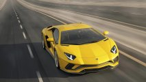 Lamborghini Aventador S front top view