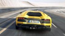 Lamborghini Aventador S rear view