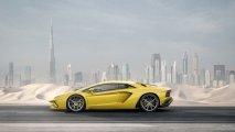 Lamborghini Aventador S side view
