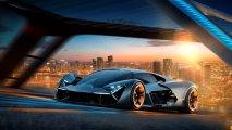 Lamborghini Terzo Millennio front side view