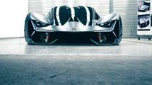 Lamborghini Terzo Millennio front view