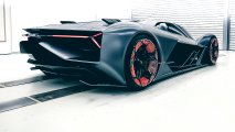 Lamborghini Terzo Millennio rear side view