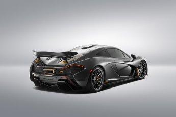 McLaren P1 rear side view