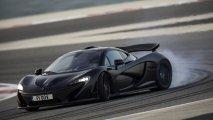 McLaren P1 front side drifting