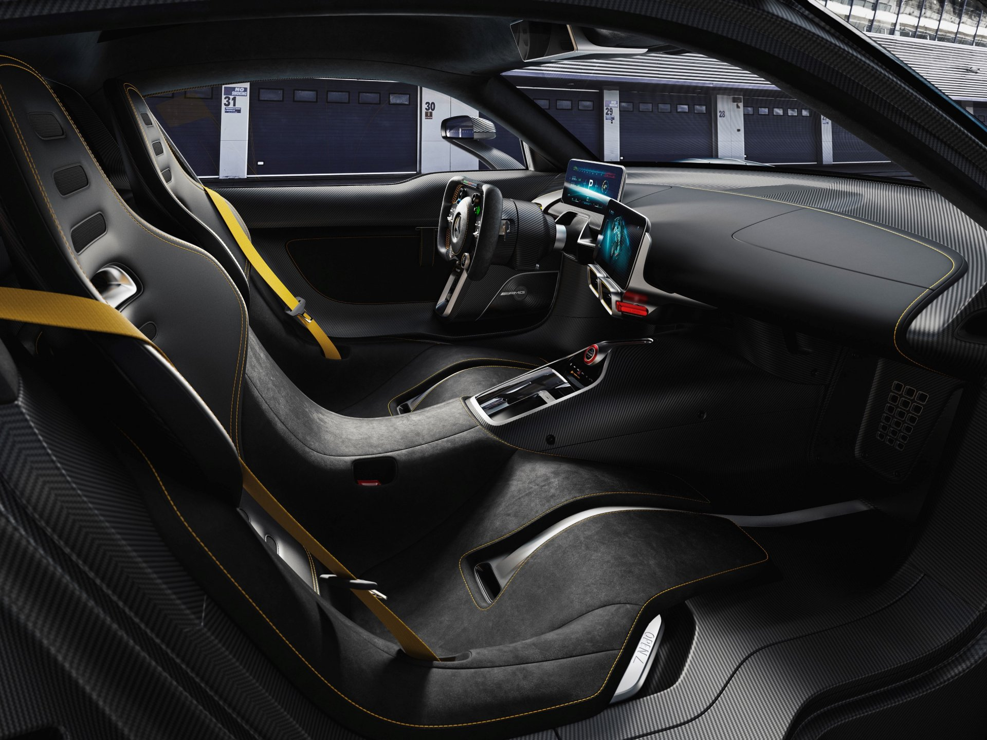 Mercedes Amg Project One Car Shock Alarm Circuit Electronic Projects Interior View