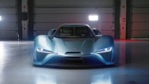 NIO EP9 electric hypercar front view
