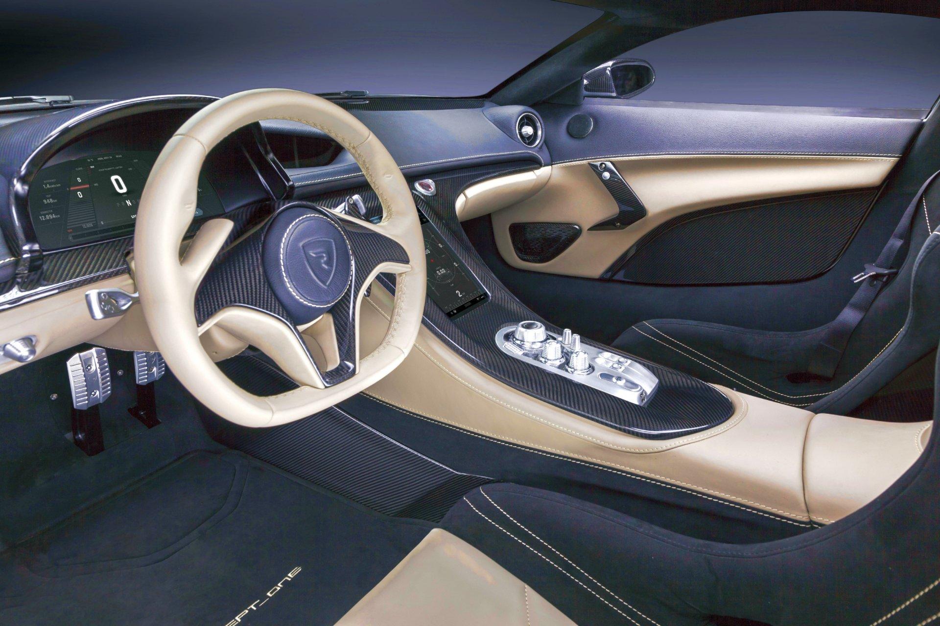 Rimac Concept One Hypercar Info