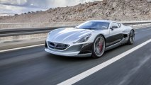 Rimac Concept One front left side view