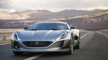 Rimac Concept One front side view