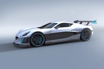 Rimac Concept S front side view