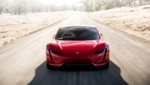 Tesla Roadster front view